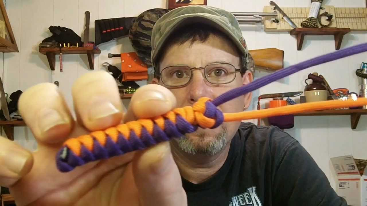 How To Tie A Diamond Knot With Loop.