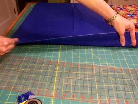 How to use a rotary cutter to cut strips for quilting