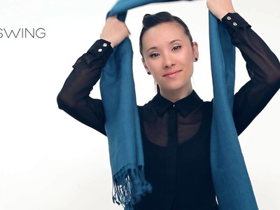 How to wear pashmina - Tie Rack Edition