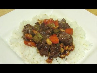 Kung Pao Beef - Easy Chinese Food Recipe