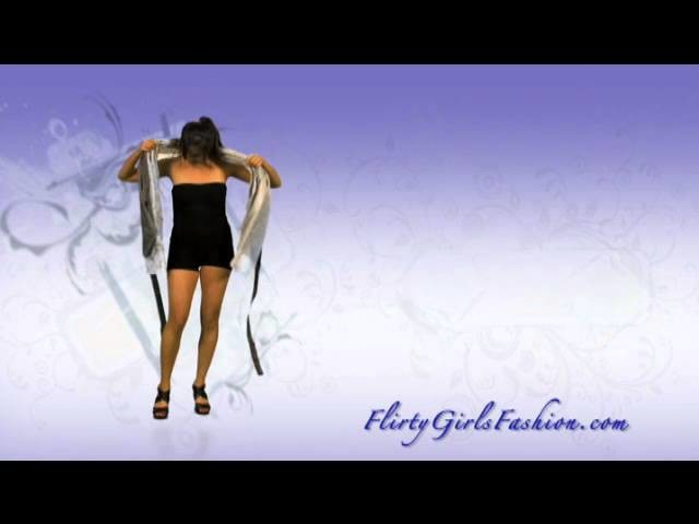 Magic Wrap Skirt How to Tie (part 5)