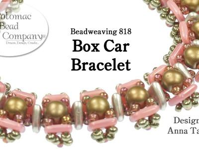 """Make a """" Box Car """" Bracelet"""