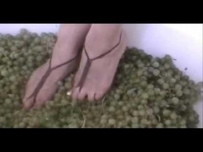 Nudeshoe  Grape CRUSH Barefoot Sandals