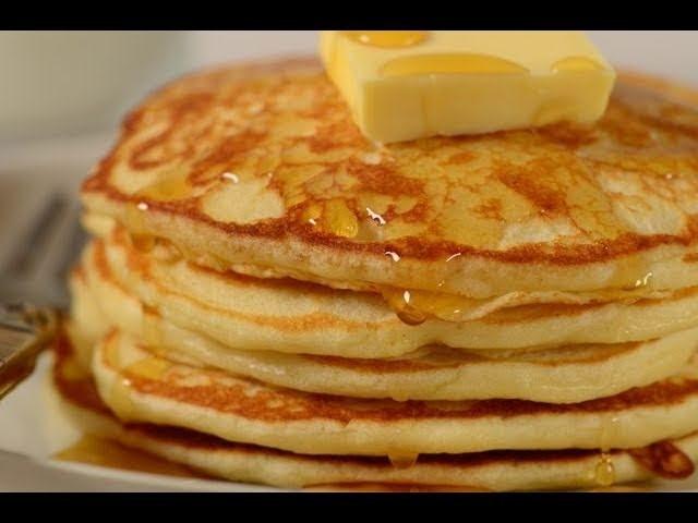 Pancakes Recipe Demonstration - Joyofbaking.com