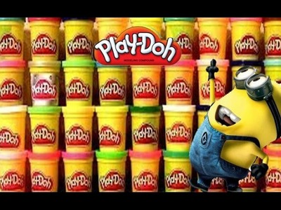 Play Doh Minions Summer Surprise Play Doh Huevo sorpresa.