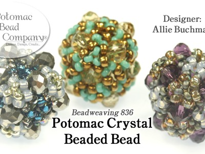 Potomac Crystal Drum (Beaded Beads)