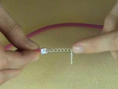 Simple end fasteners with makebeautifuljewellery.com