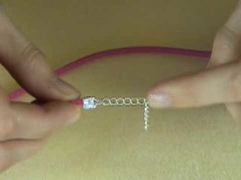 Simple end fasteners with makebeautifuljewellery.com