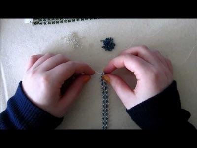 Twinbead (or Superduo) and Miyuki bracelet Part 1