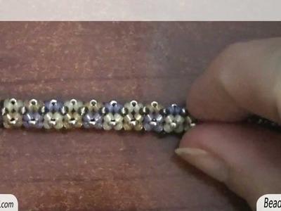 BeadsFriends: Tubular beadwork (Chenille Stitch) - Another simple idea for a tubular beadwork