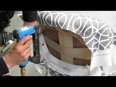 Chair Restoration Makeover for Style at Home Magazine   Part 2   YouTube
