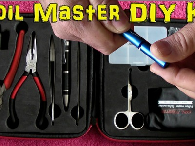 Coilmaster DIY Kit - for making perfect coils for your RDA or RTA