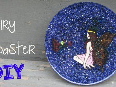 DIY Fairy Glitter Coaster   Another Coaster Friday Craft Klatch