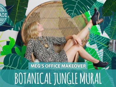 DIY Wall Art: Botanical Jungle Mural - HGTV Handmade