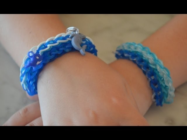 Epic Wave Rainbow Loom bracelet