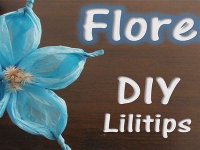 Flor de papel china. DIY