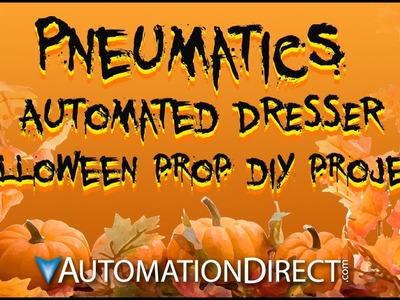 Halloween Pneumatics Prop DIY - Automated Dresser Drawers