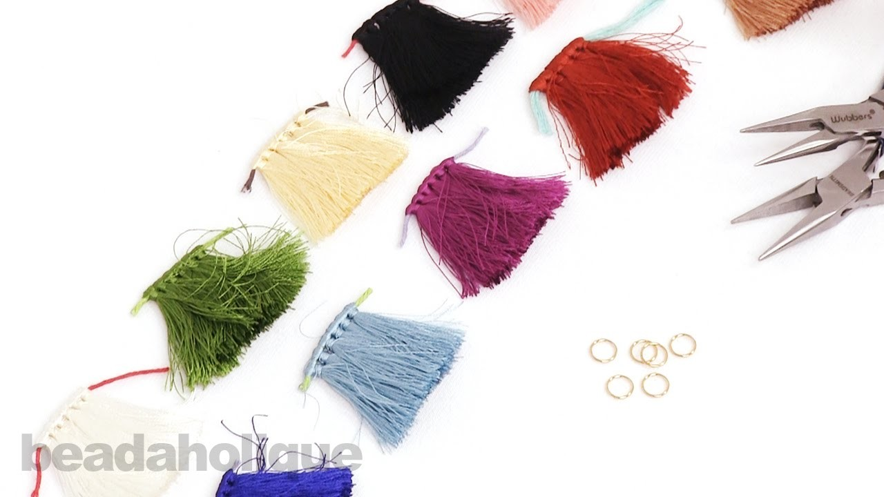 How to Add a Jump Ring to Premade Tassels