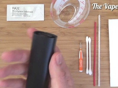 How To Clean The Pax Vaporizer & Apply Mouthpiece Lubricant