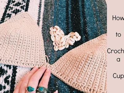 How to Crochet a Cup (Crochet Top)