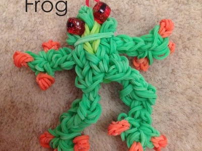 How To Make a Rainbow Loom Tree frog.