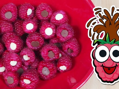 How to Make Chocolate Stuffed Raspberries | Great for Parties
