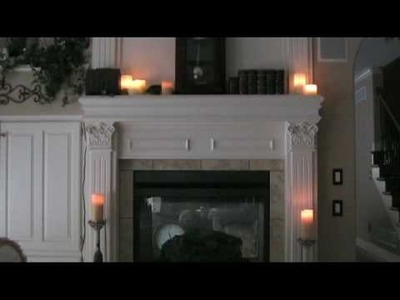 How-to: Realistic Electric Flickering Pillar Candles