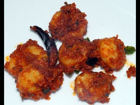 Shrimp Prawn Pickle - By VahChef @ VahRehVah.com