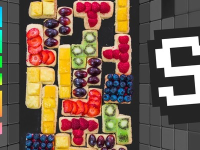 Tetris Shortbread Recipe