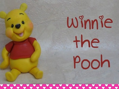 Winnie the Pooh Cake Topper Tutorial How to Make - Come fare Winnie the Pooh in pasta di zucchero