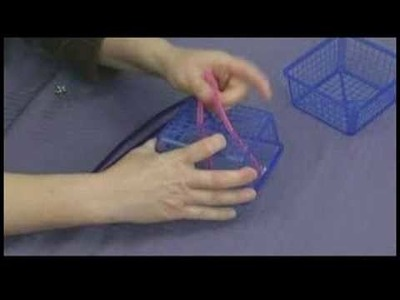 Bead Crafts for Kids : Making a Birdcage Craft