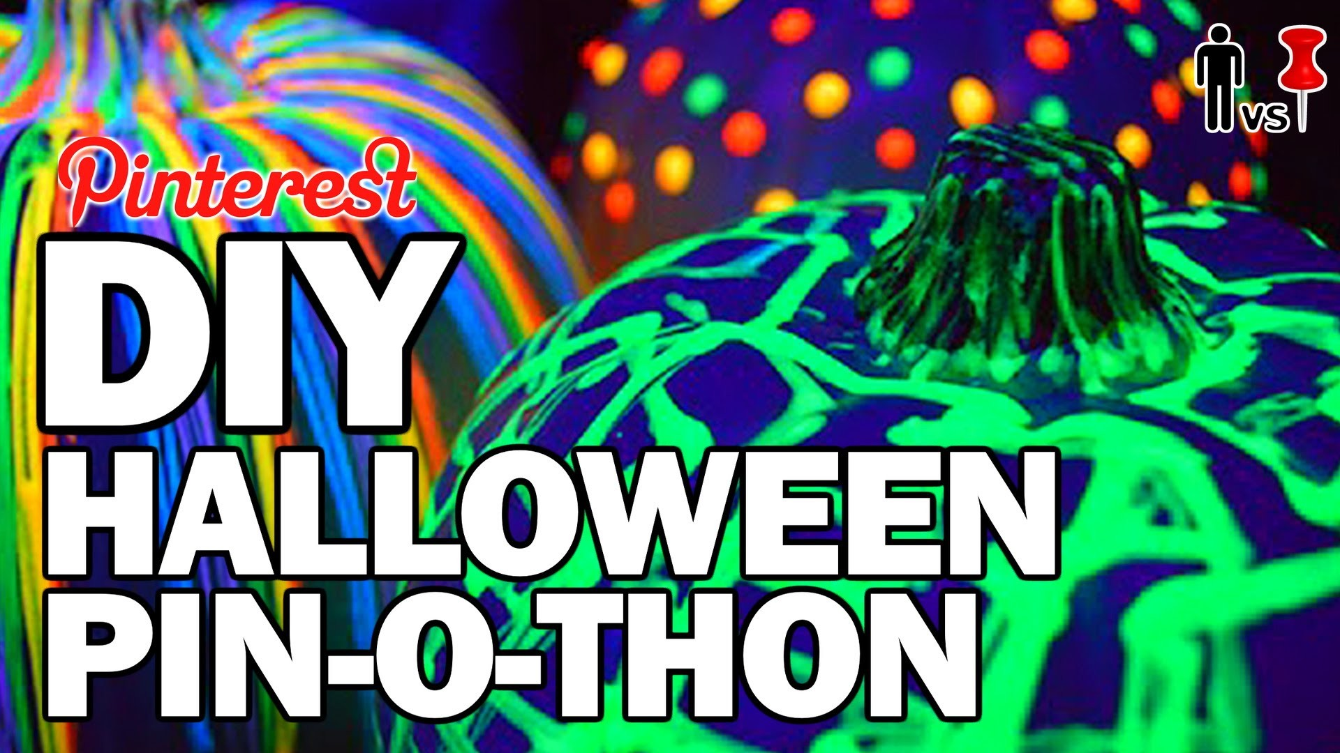 DIY Halloween PIN-O-THON - Man Vs Pin - Pinterest Test #70