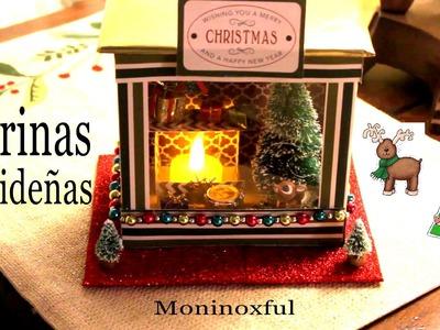 DIY Mini Vitrinas -  Christmas Windows