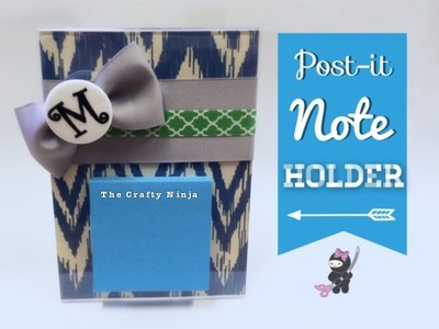 DIY Post-it Note Holder Gift