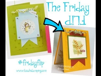Friday Flip:  Fall Card Idea using For All Things