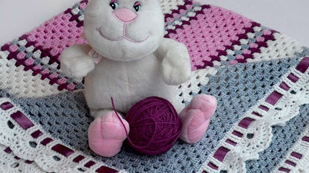 How To Crochet A Pretty Girls Blanket - DIY Crafts Tutorial - Guidecentral