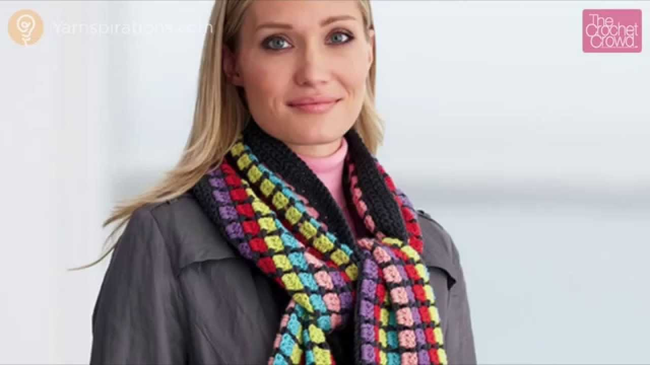 How to Crochet Multi-Color Scarf