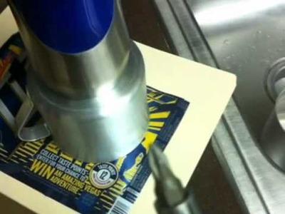 How to DIY lid for 10cm IMUSA mug.