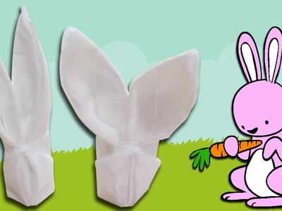How To Make An Easter Bunny Napkin