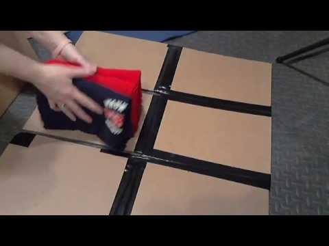How to make T Shirt Folder