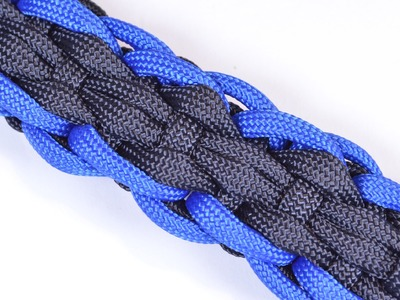 "How to Make the ""Rugby"" Design Paracord Survival Bracelet - BoredParacord"