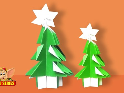 Learn to Kirigami a Christmas Tree