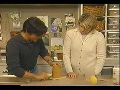 Martha Stewart Shows How To Make Candle Molds out of PMC-744 Urethane