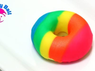 Play-Doh Rainbow Donut