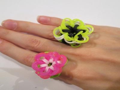 Rainbow Loom- Flora and Fauna Ring (Original Design)