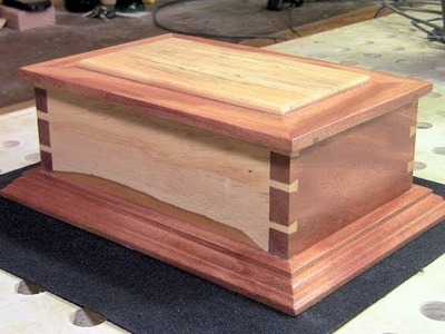 Woodworking - Making a Hand Cut Dovetail Box