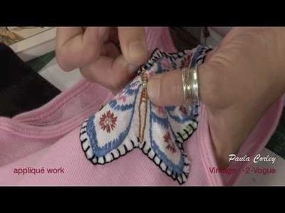 Applique Patch Handwork by Paula Corley