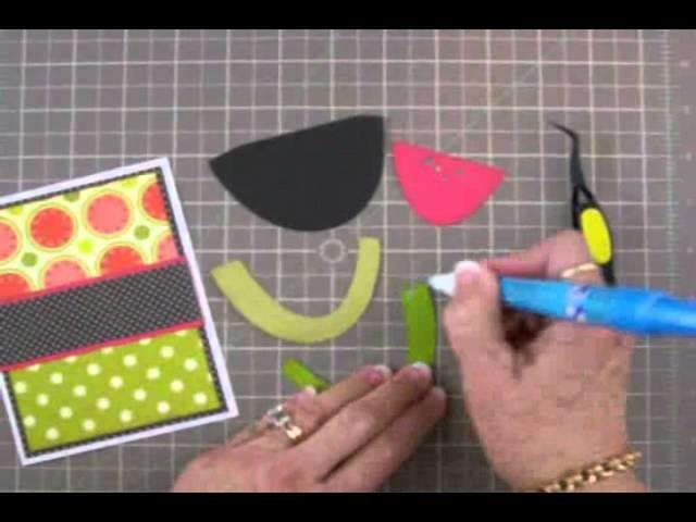 "Cricut ""Thanks a Melon!"" Card"