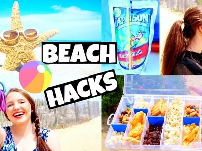 DIY Cheap & Helpful Summer Beach Hacks + TIPS!