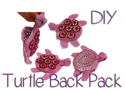 DIY: Turtle Shaped Back Pack part 3